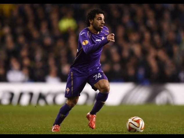 Con un gol di Salah la Fiorentina sbanca San Siro e mette l'Inter ko