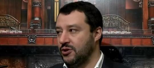 Salvini: per gli immigrati clandestini è finita la pacchia