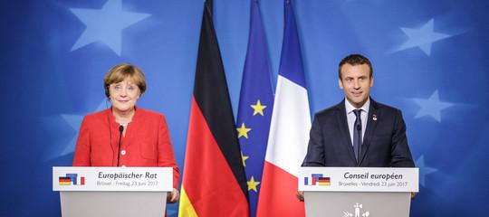 """Conte sente Merkel e Macron, """"da loro i migliori auguri all'Italia"""""""