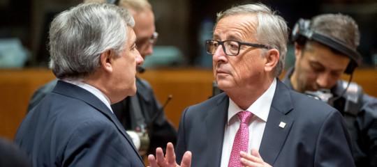 """Juncker: """"Nessuno dia lezioni all'Italia. I tedeschi in Grecia hanno esagerato"""""""