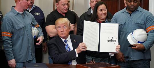 Trump: gliUsa devono essere trattati equamente nel commercio