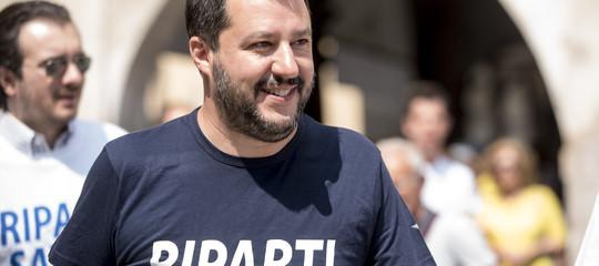 Salvini: basta Mediterraneo cimitero. Meno partenze più rimpatri