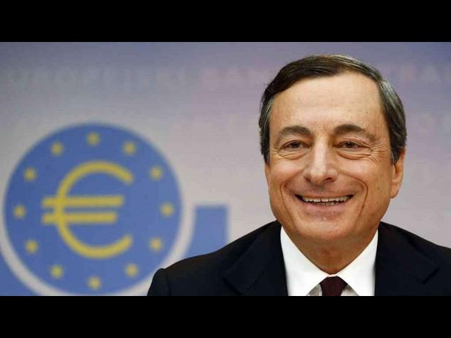 Draghi, stabiliti obiettivi prestiti 'finalizzati' a banche
