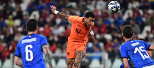 L'amichevole Italia-Olanda finisce 1-1