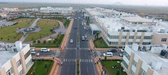 In India stanno costruendo una nuova capitale :Amaravati