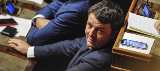"""Renzi-showal Senato. """"Conte premier non eletto, potrei dire un collega"""""""