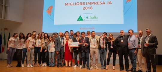startup studenti governo scuola junior achievement