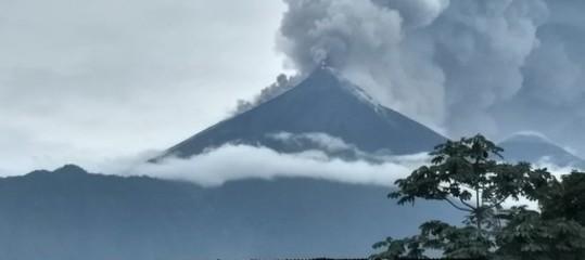 guatemala vulcano volcan de fuego