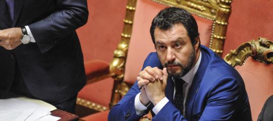 """Salvini con Trumpsui dazi:""""Argine alla prepotenza tedesca"""""""