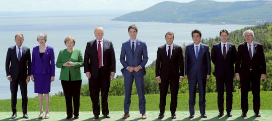 Come è andato il debutto di Conte al G7