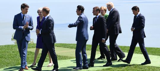 G7: Trumpsi complimenta con Conte, Merkel elogia il lavoro italiano in Libia
