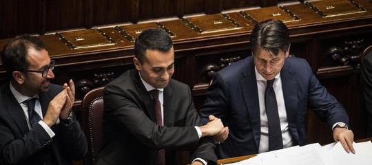 """Svelato il perché di quel '""""no"""" di Di Maio a Conte in Aula"""