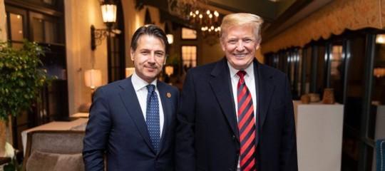 Trump ritwittalasua foto con Conte al G7, poi conferma la guerra commerciale al Canada