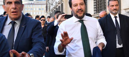 Cosa ha detto Salvini a Otto e mezzo su migranti,Macrone telegiornali Rai