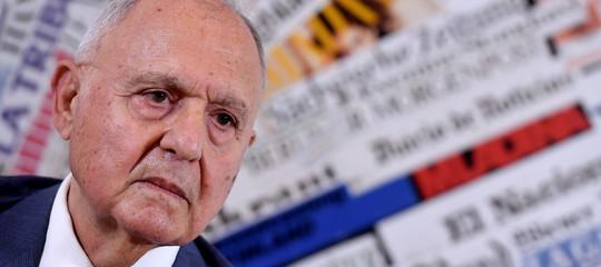 """Paolo Savona è tornato a parlare di Euro e """"Piano B"""" dopo settimane di silenzio"""