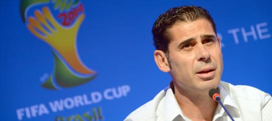 Mondiali: Fernando Hierroct della Spagna