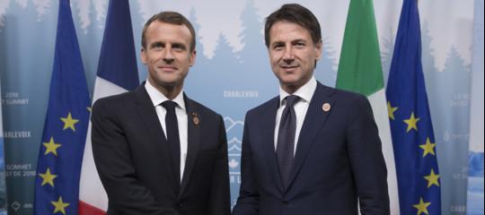 PerchéMacronsi è sbrigato a ricucire lo strappo con Conte e l'Italia