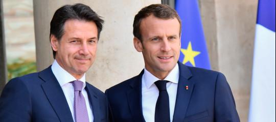 """Italia-Francia, Conte:""""In autunno vertice con Macron a Roma"""""""