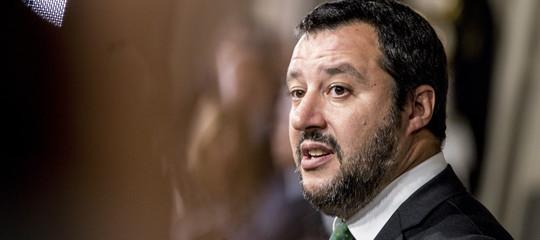 """Migranti: Salvini, """"C'è un progetto per non far fare figli agli italiani"""""""