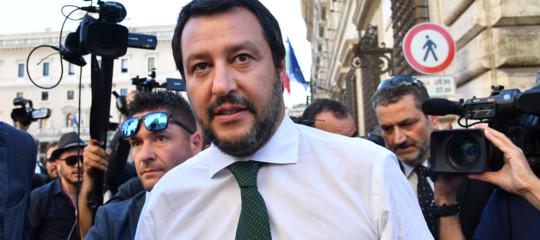 """Migranti: Salvini, """"Abbiamo fatto più noi in 15 giorni che Pd in 6 anni"""""""