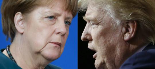 """Trumpcontro l'Europa dell'accoglienza: """"La Germania è un campo profughi"""""""