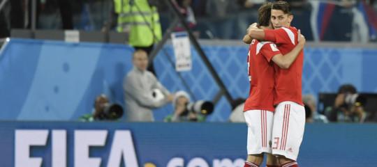 Mondiali: Russia agli ottavi, batte 3-1 l'Egitto e lo elimina