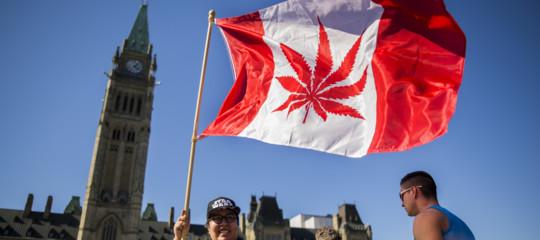 La marijuana a scopo ricreativo ora è legale anche in Canada