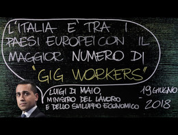 Di Maio e la Gig Economy, Fact-Checking alla lavagna