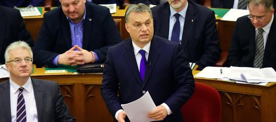 """Migranti:Orban, """"PaesiViegradnon parteciperanno a mini-summit domenica"""""""