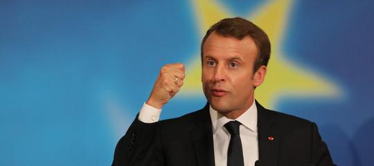 """Macron: """"I populisti sono la lebbra d'Europa"""""""