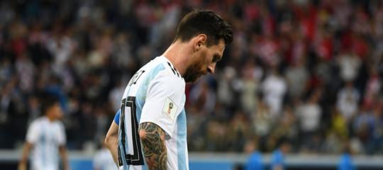 Mondiali: Croazia agli ottavi, Argentina umiliata rischia di uscire