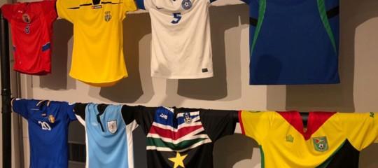 Tutte le maglie del mondo in mostra a Pontedera