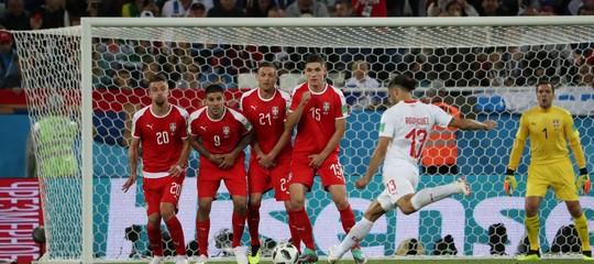 Mondiali: la Svizzera batte la Serbia 2-1 in rimonta
