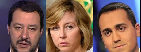 Salvini - Giulia Grillo - Di Maio
