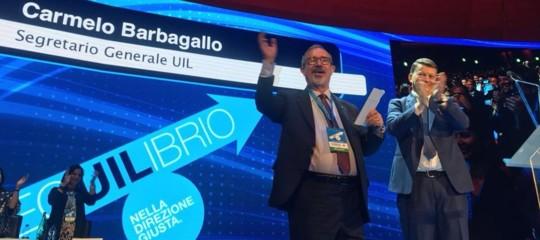 Uil: Barbagallo rieletto segretario generale