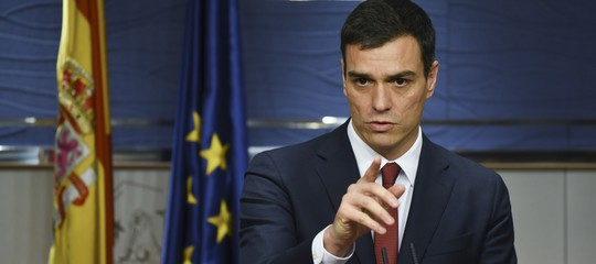 "Sanchez: ""governo italiano anti-europeo ed egoista"""