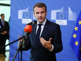 """Macron risponde al fuoco:""""Sui migranti non accettiamo lezioni da nessuno"""""""