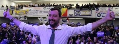 Salvini a Napoli