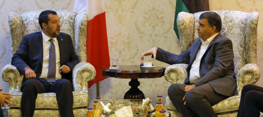 Salvini a Tripoli: massima collaborazione sui migranti