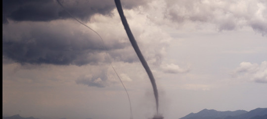 Aumentano tornado e trombe d'aria? È il mare che cambia