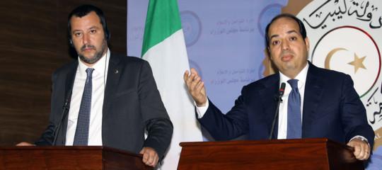 La missione di Salvini in Libia (rimontare la Francia) alla fine è andata bene o male?