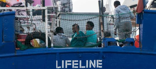migranti lifeline malta