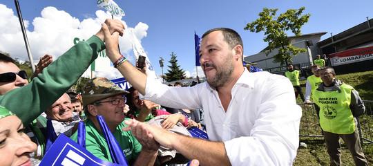 """""""Finalmente, dalla protesta ai fatti"""". Intervista a Matteo Salvini"""
