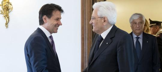 Prima di andare a Bruxelles, Conte è andato daMattarella