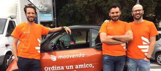 Moovendapromette di assumere tutti i rider se i big del food delivery lasciano l'Italia