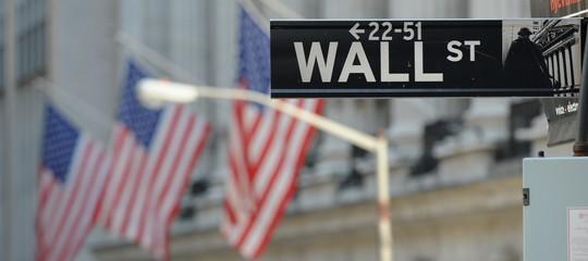 Wall Street: apre in calo dopo dati Pil Usa