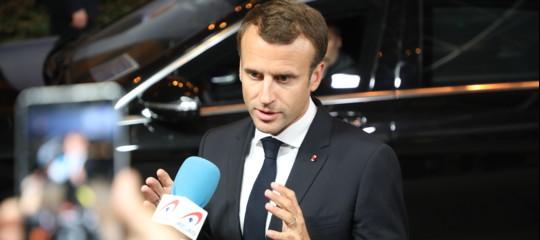 """Migranti: Macron, """"Gli hotspot saranno nei Paesi di prima accoglienza"""""""