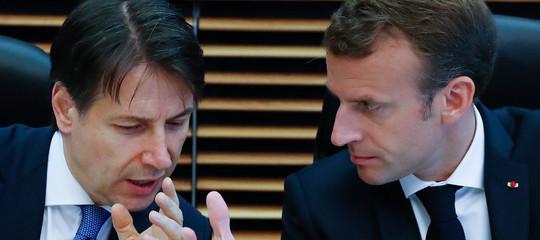"""Scontro suimigranti.Macron:""""Dublino resta"""". Conte:""""è solo stanco"""""""