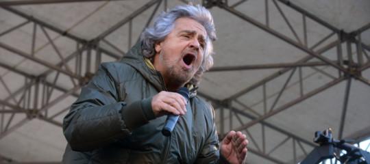 """""""Editto"""" di Grillo sulla Rai: """"Due reti sul mercato, una senza pubblicità"""""""