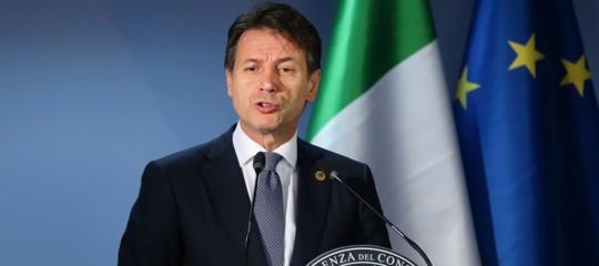 """Migranti: Conte, """"Italia era sola, ora azioni condivise nell'Ue"""""""